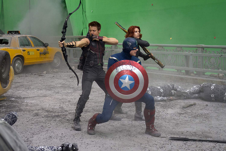 Everything You Need to Know About Chroma Key and Green Screen Footage – Avengers