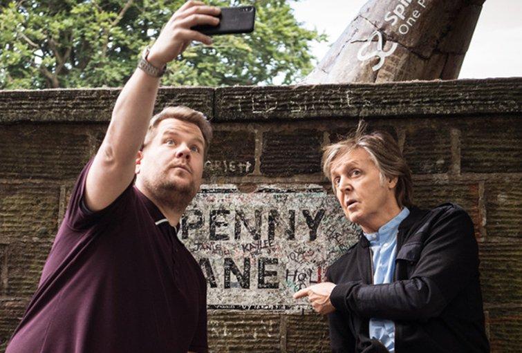 Editor Tom Jarvis on Carpool Karaoke with Paul McCartney — James Corden and Paul McCartney