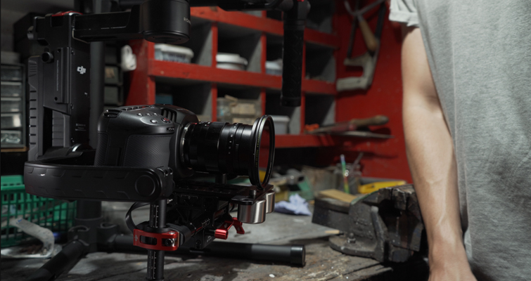 How to Mount the Blackmagic Pocket Cinema Camera 4K on the Ronin-M - CineMilled Balanced