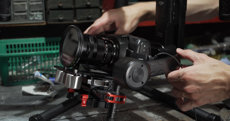 How to Mount the Blackmagic Pocket Cinema Camera 4K on the Ronin-M - DJI HDMI