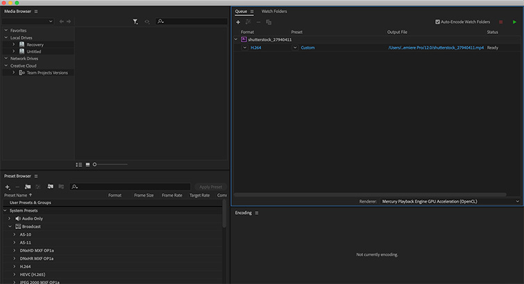 Pro Tip: Exporting a Finished Video from Premiere Pro — Media Encoder