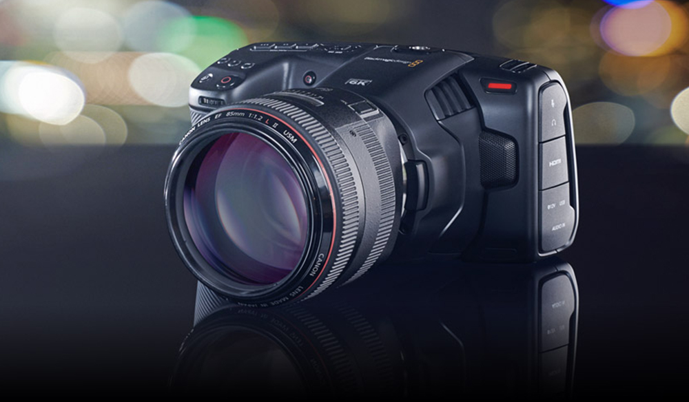 Blackmagic Announces The Pocket Cinema Camera 6K – EF Mount