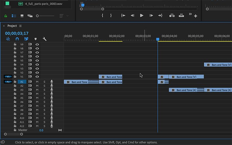 Master Premiere Pro's Timeline with Source Patching — Insert Gap Source Patching