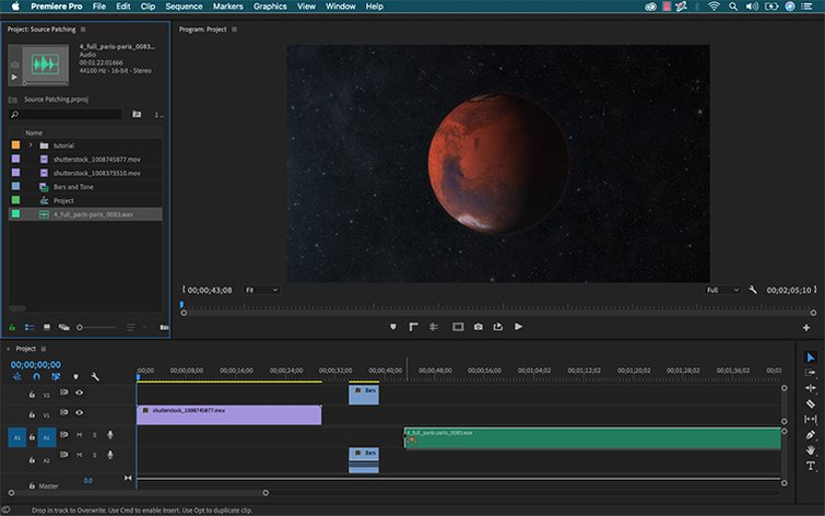 Master Premiere Pro's Timeline with Source Patching — Project Panel to Timeline