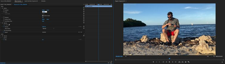 Quick Tip: Fixing a Crooked Horizon in Premiere Pro — Wide Angle