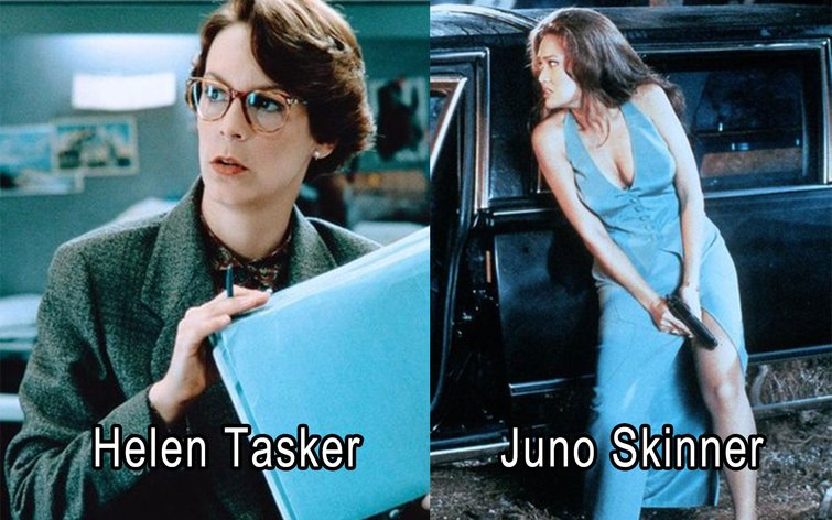 From True Lies to Die Hard: Simple Yet Brilliant Costume Designs - Tasker vs. Skinner