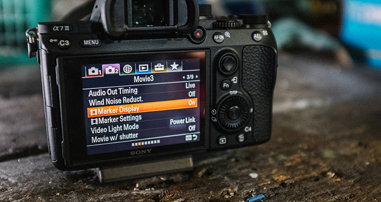 Get Ready to Film with the Sony A7 III Using These Settings — Marker Settings