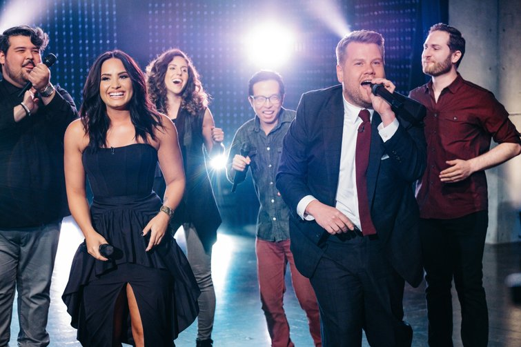 Editor Tom Jarvis on Carpool Karaoke with Paul McCartney — Demi Lovato and James Corden