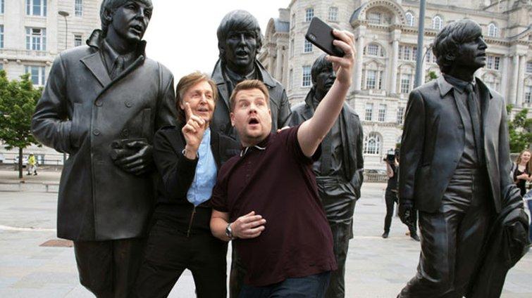Editor Tom Jarvis on Carpool Karaoke with Paul McCartney — Paul McCartney and James Corden