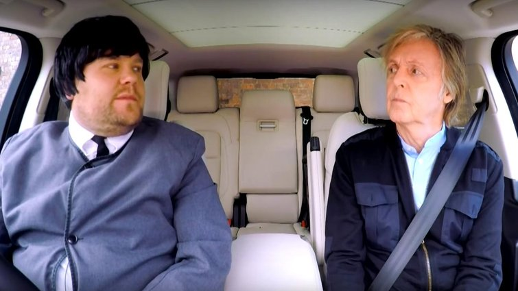Editor Tom Jarvis on Carpool Karaoke with Paul McCartney — James Corden with Paul McCartney