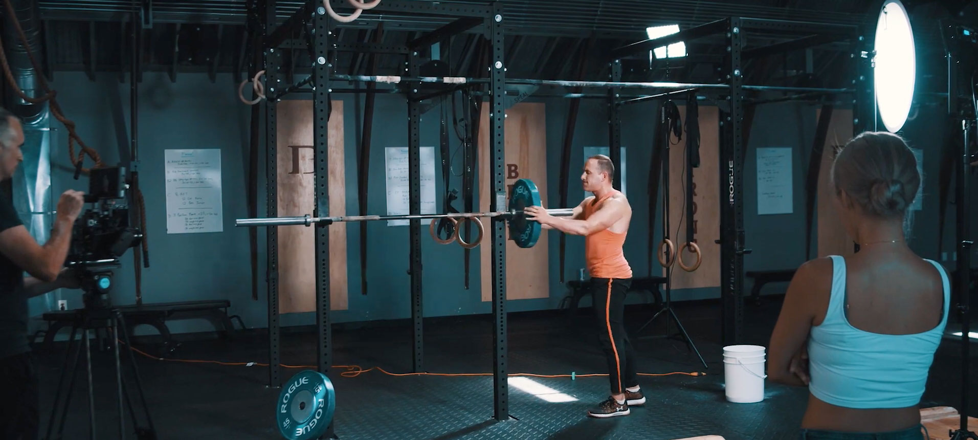 How to Shoot a Training Montage for a Sports Film — Shooting