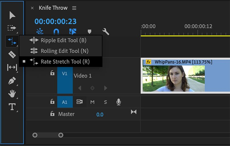 How to Speed Up or Reverse a Clip in Premiere Pro - Speed Duration Controls in Premiere Pro