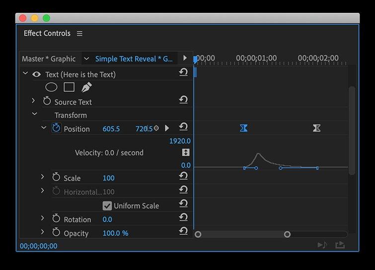 Cómo crear efectos de texto y animaciones en Premiere Pro - Efectos de texto de ajuste fino