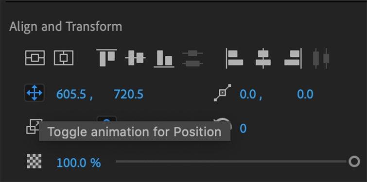 Cómo crear efectos de texto y animaciones en Premiere Pro - Animar texto y fondo