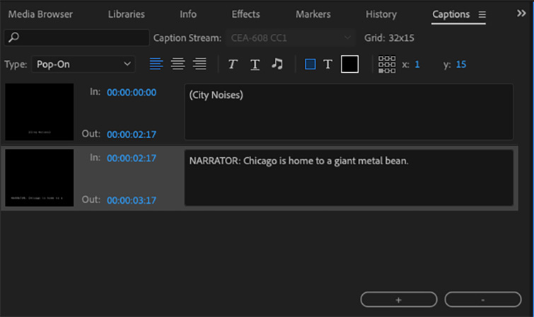 Video Editing 101: How to Add Titles and Subtitles in Premiere Pro — Captions Panel