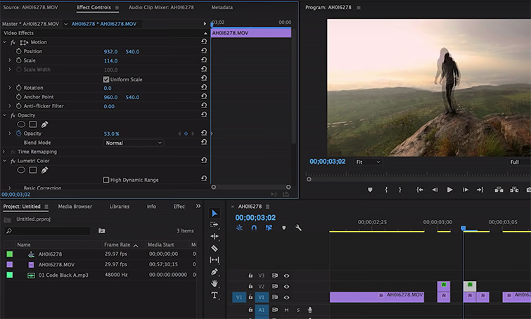 Create a Glitch Effect in Premiere Pro in 3 Steps — Duplication and Opacity