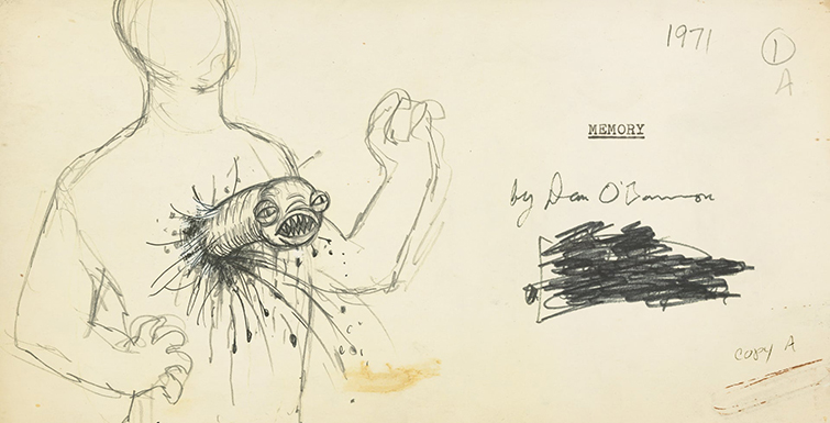 Concept drawings for Alien