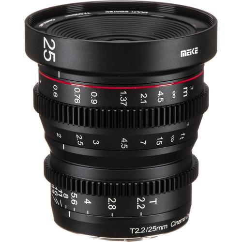 5 Bang-for-Your-Buck Cinema Lenses for Beginners — Meike T2.2 Manual Focus Cinema 25mm Lens
