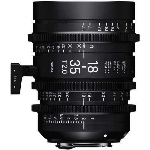 5 Bang-for-Your-Buck Cinema Lenses for Beginners — Sigma Cine 18-35mm T2 Lens