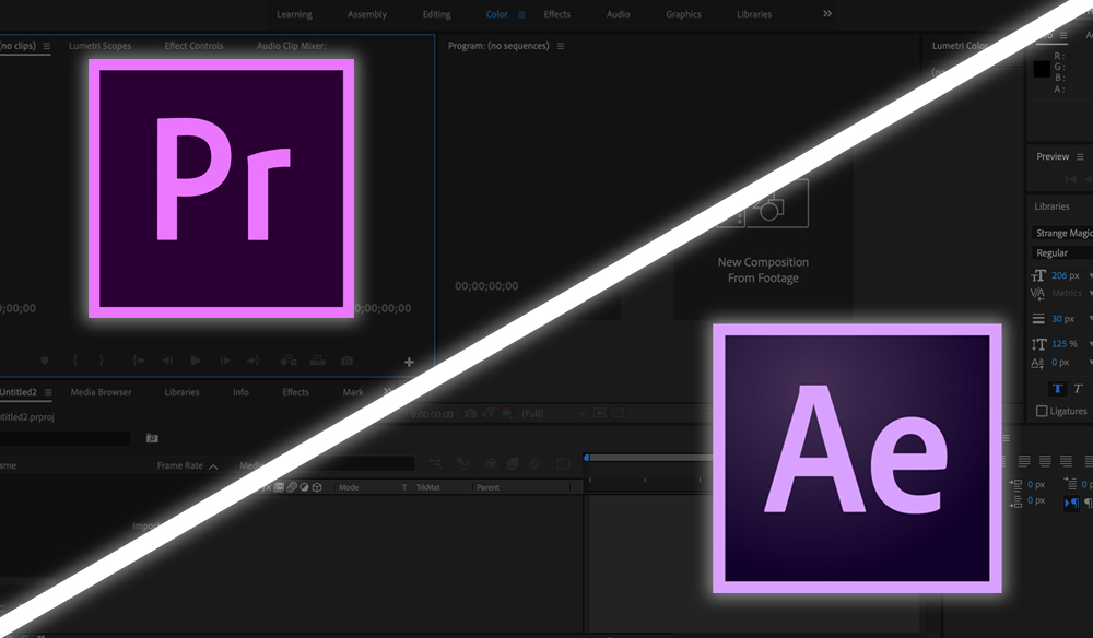 After Effects vs. Premiere Pro: Which Do You Need?
