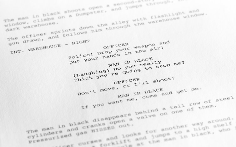 Dialogue in a Screenplay