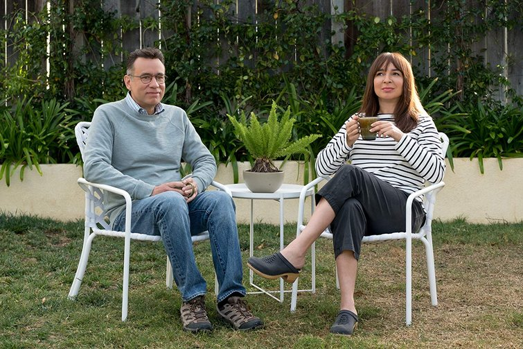 Fred Armisen and Maya Rudolph in Forever