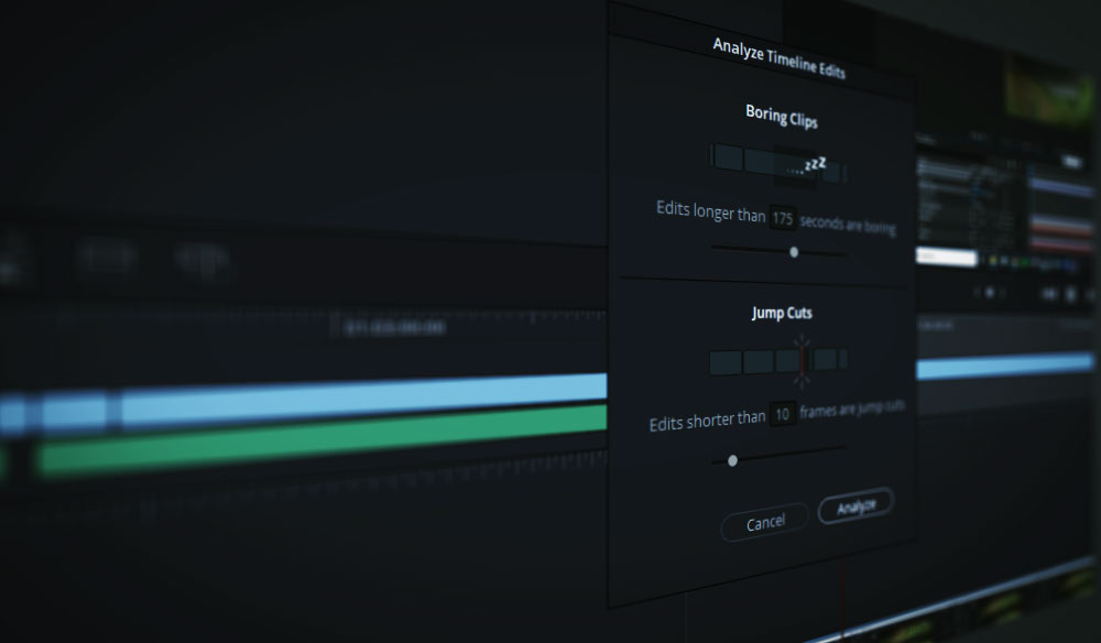 DaVinci Resolve's Boring Detector — Offensive or Misunderstood?