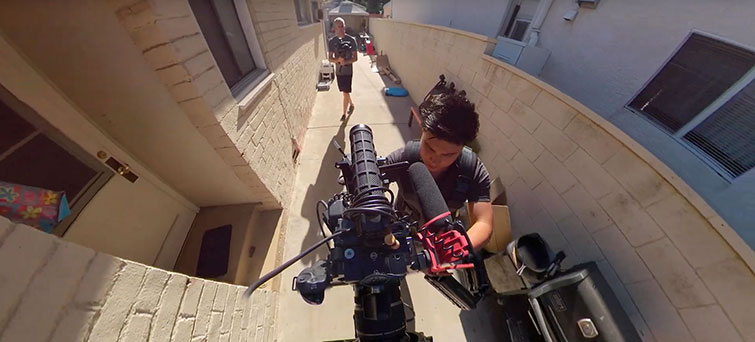 Steadicam Operation from Above