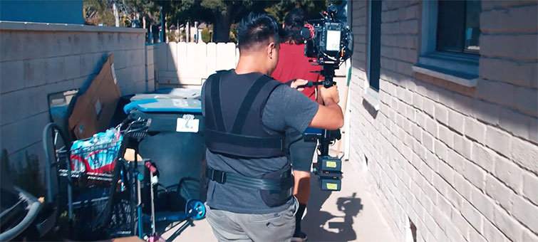 Steadicam Operation from Behind