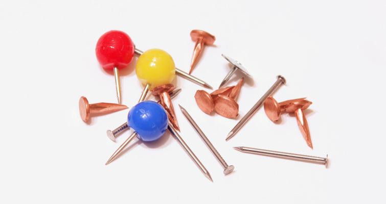 Wire Nails and Thumb Tacks