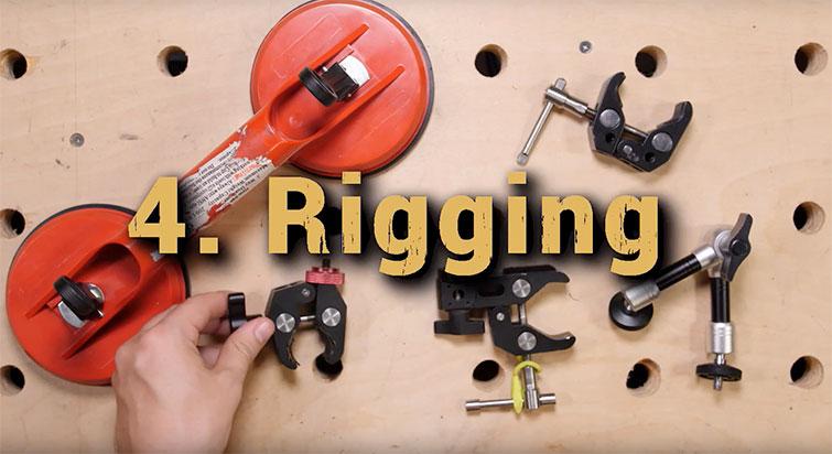 Video car rigging