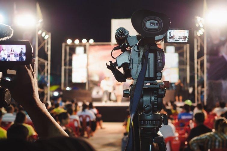 Digital Camera Recording Concert