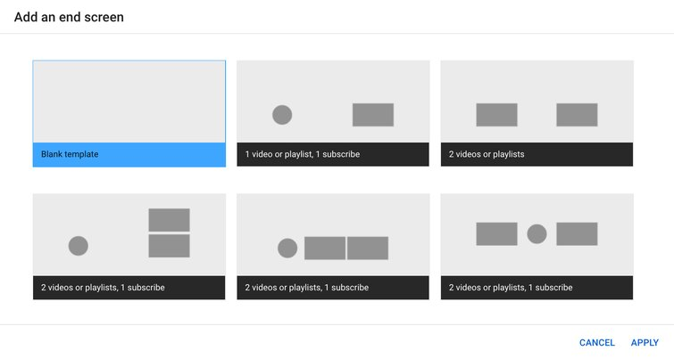 Reviewing YouTube's New Non-Linear Video Editor — Add an End Screen