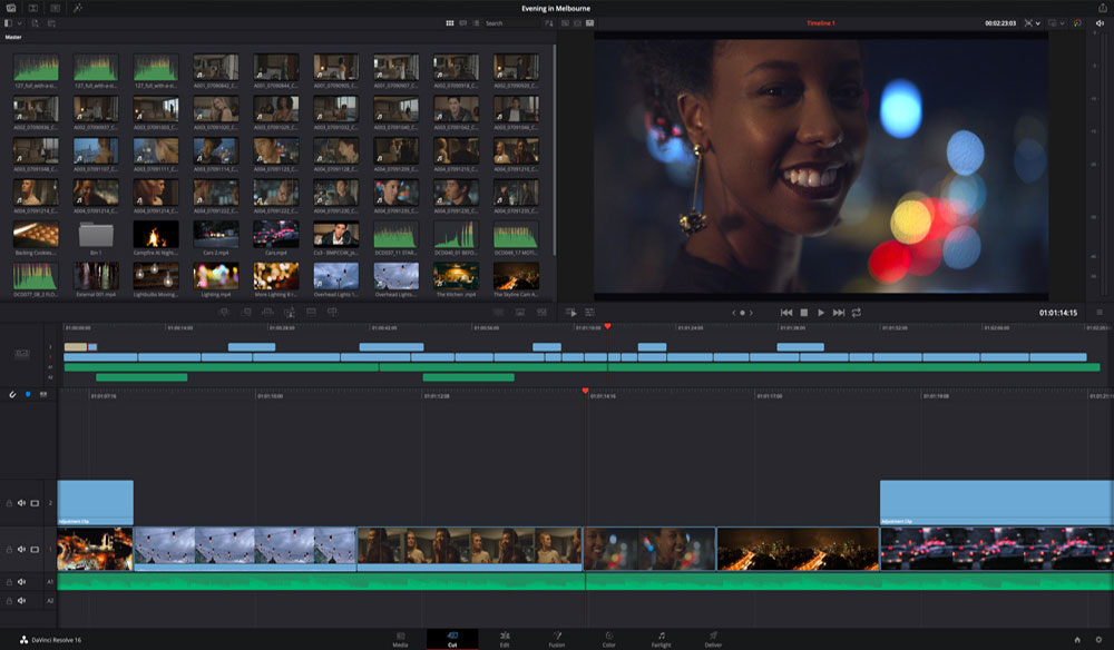 7 Tutorials for Learning Blackmagic's DaVinci Resolve