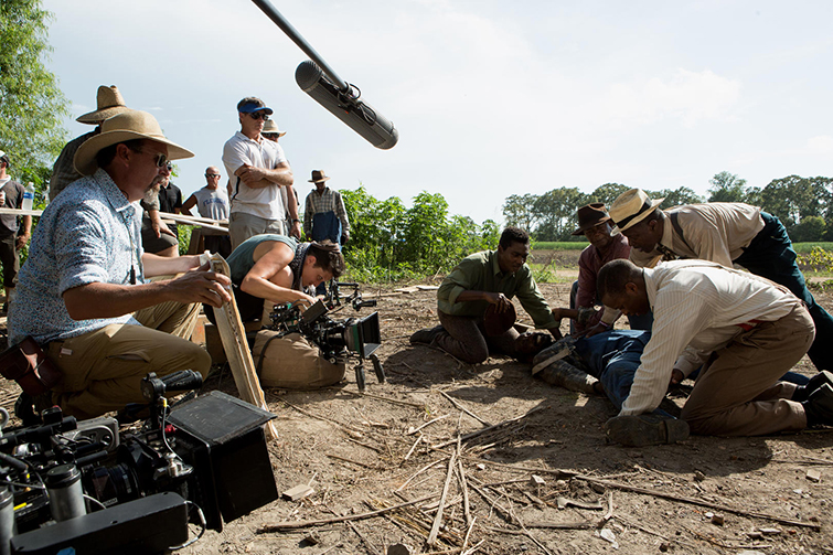 Rachel Morrison Filming Mudbound