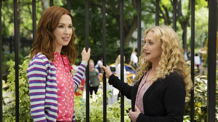 Lighting by Eye: How to Light a Scene Using Ratios — Ellie Kemper and Carol Kane in Unbreakable Kimmy Schmidt