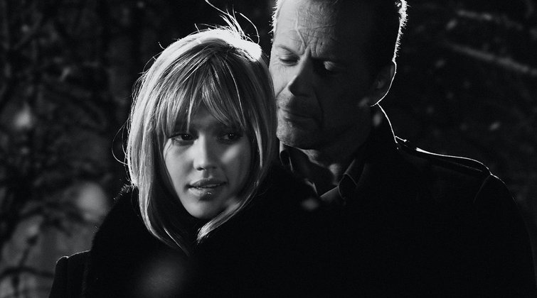 Lighting by Eye: How to Light a Scene Using Ratios — Jessica Alba and Bruce Willis in Sin City