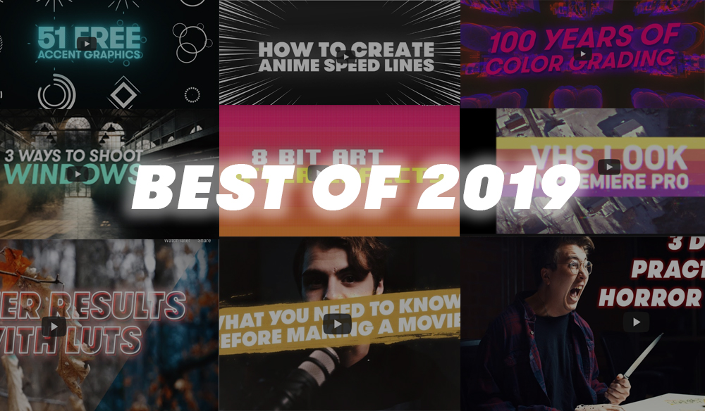 Roundup: PremiumBeat's Top 10 Video Tutorials of 2019