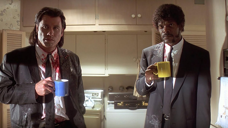 A Guide to the Basic Film Genres (and How to Use Them) — John Travolta and Samuel L. Jackson in Pulp Fiction