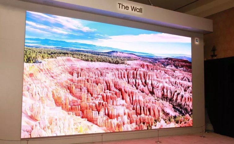 """What Film Technologies Will Define the Next Decade? — Samsung's 292 Inch TV Known as """"The Wall"""""""