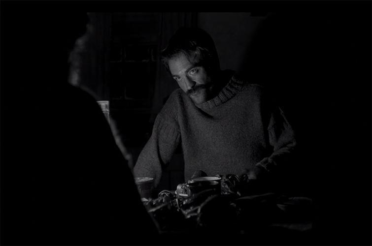 "Robert Pattinson in ""The Lighthouse"""