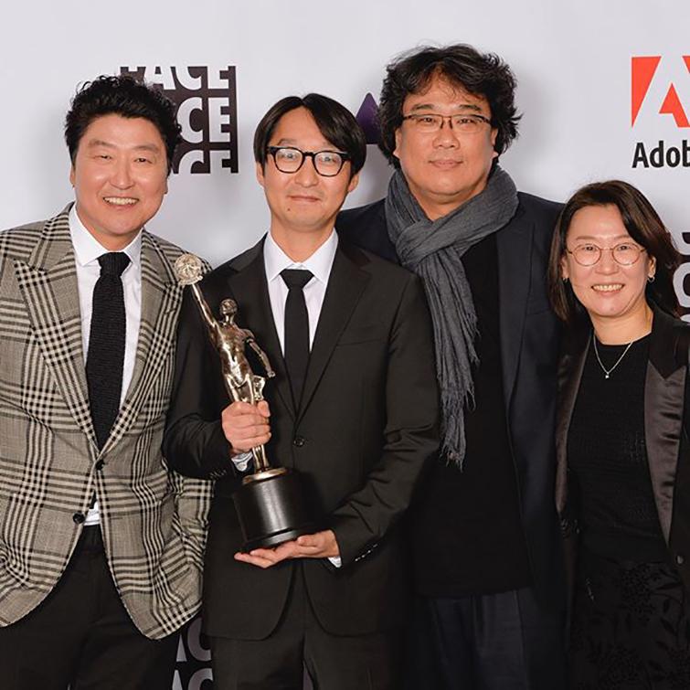 Academy Award-Nominated Editor Jin-mo Yang Shares His Secrets — Jinmo Yang with Bong Joon-ho and Company