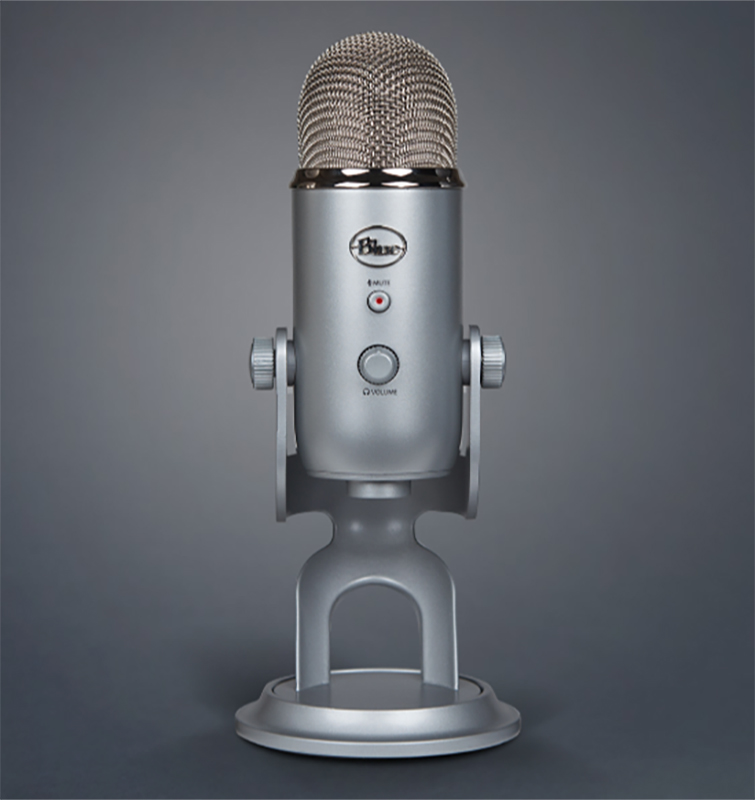 The Best Microphone Setups for Every Type of Podcaster — Blue Yeti USB Microphone