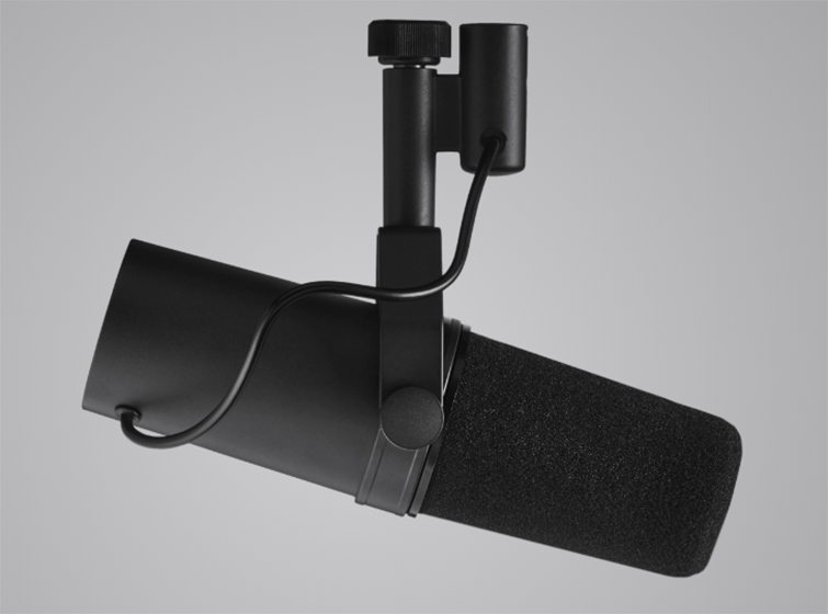 The Best Microphone Setups for Every Type of Podcaster — Shure SM7b