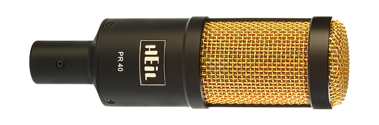 The Best Microphone Setups for Every Type of Podcaster — HEiL Sound PR-40 Dynamic Studio Microphone