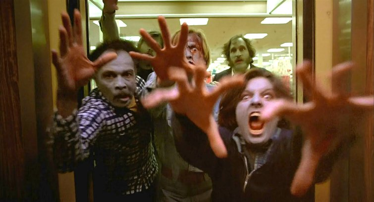 """Scene from """"Dawn of the Dead"""""""