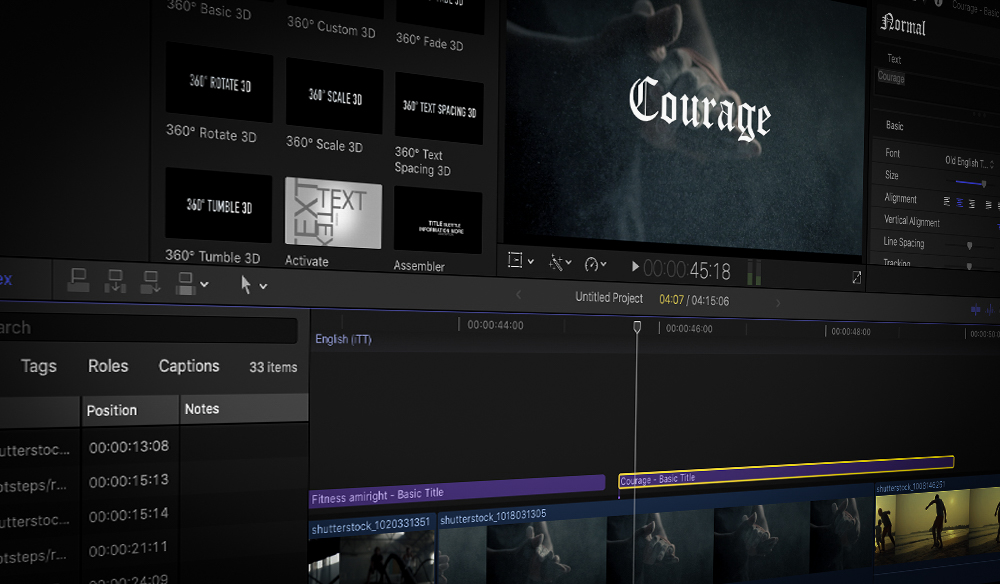 4 Simple Ways to Add Text and Titles in Final Cut Pro X