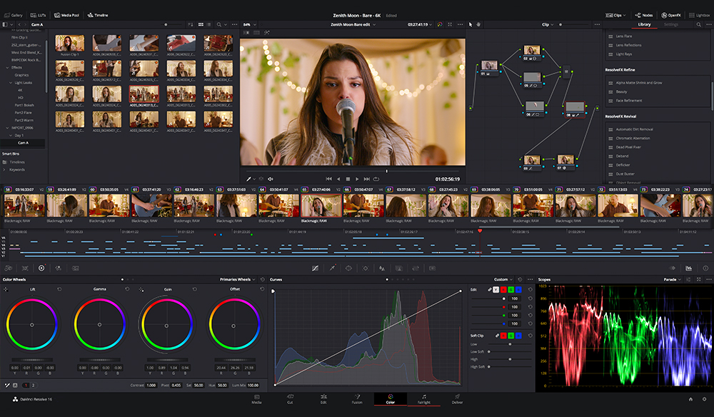 Blackmagic Design Releases New Davinci Resolve 16 2