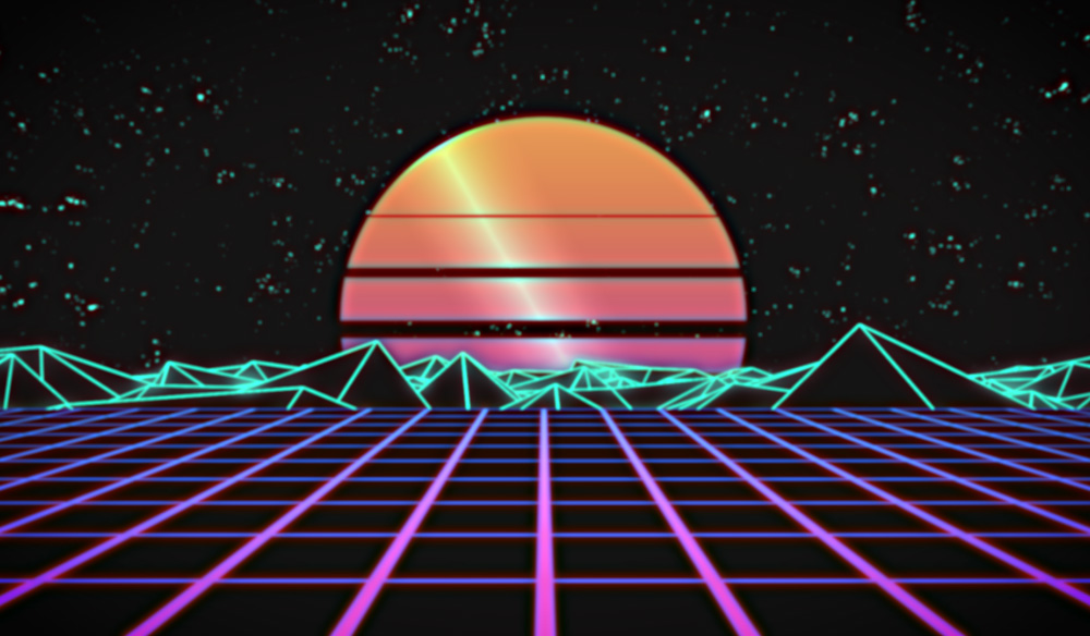Create a Retrowave Background Loop with Adobe After Effects