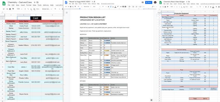 Sample Production Docs